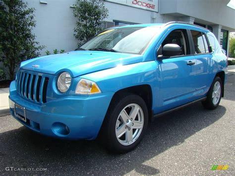 jeep light blue 2008 surf blue pearl jeep compass sport 9015073 photo 2