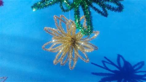 Esfera navideña fácil con limpiapipas (adorno árbol de navidad) YouTube
