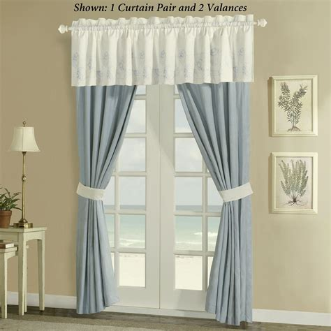 Coastal Style Window Valance Room Ornament
