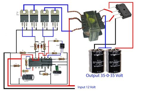 how to make inverter for lifier electronics help care