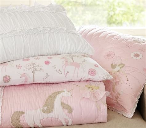 unicorn crib bedding unicorn quilt pottery barn