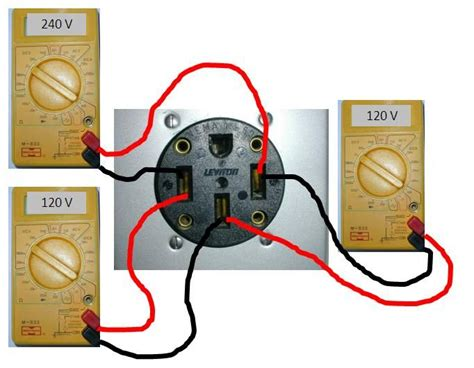 Breaker 3 Wire Dryer Hook Up Diagram by This Article Has A Great 50 Rv Diagram The