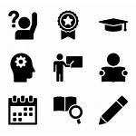 Study Icon Studying Icons Vector Academic Case