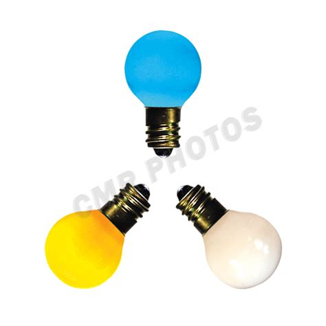 7 watt g8 midway brand ceramic color candelabra e12