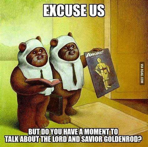Ewoks Meme - 10 funny star wars memes to celebrate the new trailer starwarstheforceawakens anglican memes