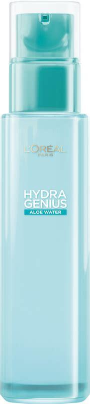 loreal hydra genius aloe water smooth care  normal
