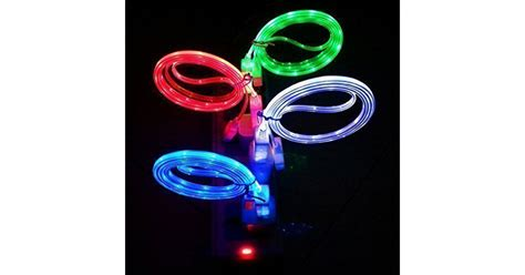 light up iphone charger light up led iphone charger cables drunkmall