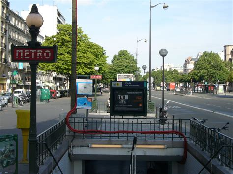 metro porte de vincennes flickr photo