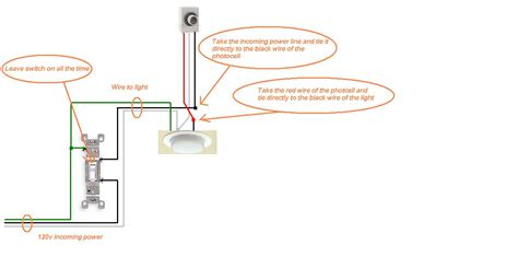 Yard Light Sensor Wiring Diagram by How To Install Photocell Outdoor Light Sensor Need A