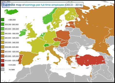 socio economic maps  europe europe guide eupedia