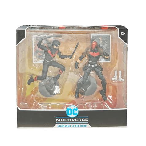DC MULTIVERSE - NIGHTWING VS RED HOOD COLLECTOR S 2-PACK 7 ...