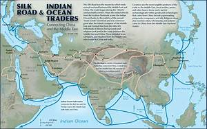 How were the Indian Ocean routes and Silk routes similar ...