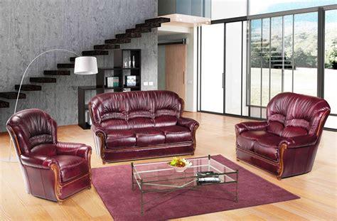 burgundy leather sofa and loveseat burgundy traditional italian leather sofa loveseat