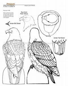 Bald Eagle Carving - Wood Carving Patterns • WoodArchivist