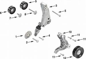 Jeep Wrangler Jk Cooling Drive Pulley Parts 12-14