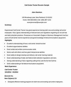 call center resume example 9 free word pdf documents With call center resume sample