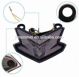 Integrated Signal Brake Park Drl Led Tail Lamp Motorcycle