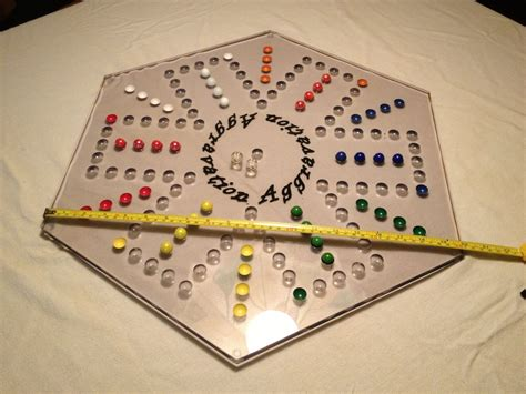 aggravation game board made aggravation board by creations cnc custommade