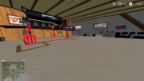 fs placeable animated machine shop  refuel point