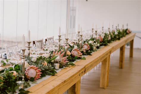 Chic Vineyard Wedding By Lad And Lass Photography