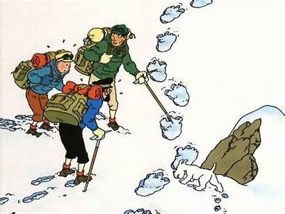 Tintin Tibet Milou Elme Feu Yeti Yetis