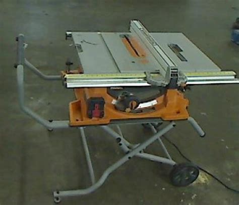 ridgid 15 10 in compact table saw ridgid 10 in 15 amp heavy duty portable table saw with