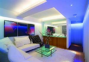 My decorative interior lighting with led for Led lights for living room