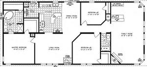 2000 Square Foot House Plans One Story by 2000 Sq Ft And Up Manufactured Home Floor Plans