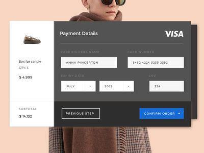 payments images card ui interface design ui design