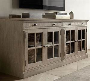 Livingston Small TV Stand Pottery Barn