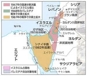 パレスチナ:イスラエルとパレスチナの対立