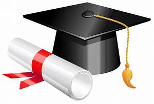 Graduation clipart transparent background - Pencil and in ...