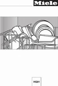 Miele Dishwasher G858scvi User Guide