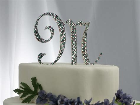 monogram cake toppers  dallas fort worth texas