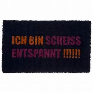 Fußmatte Gift Company : fu matte entspannt von gift company bei erkmann ~ Watch28wear.com Haus und Dekorationen