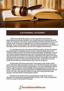 LLM Personal Statement  Personal