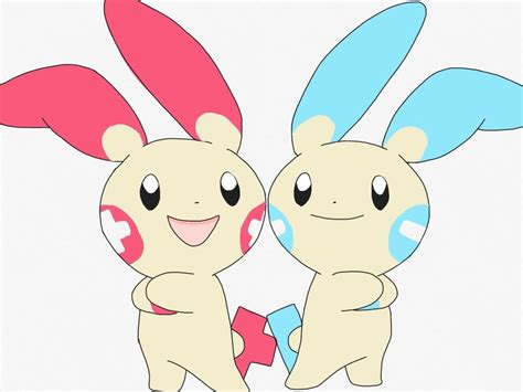 Plusle And Minun By Xiximagicramen On Deviantart