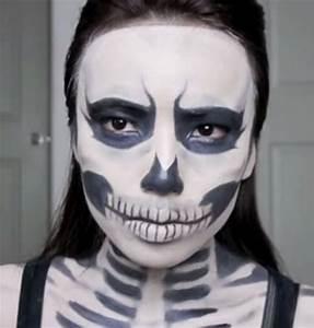 Simple Skeleton Makeup You - Mugeek Vidalondon