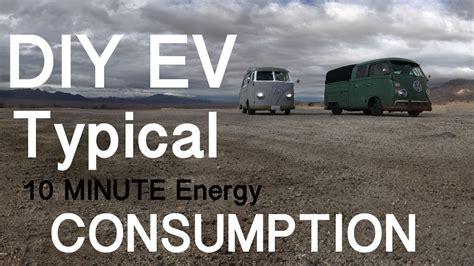 Electric Car Consumption by Typical Electric Car Ev Energy Consumption