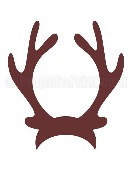 props for photo booth reindeer antlers photo booth prop