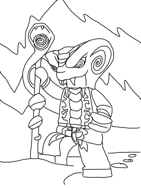 Ninjago Pythor Free Coloring Pages