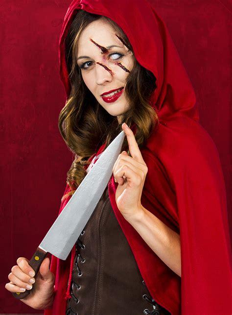 halloween schminktipp horror rotkaeppchen maskworldcom