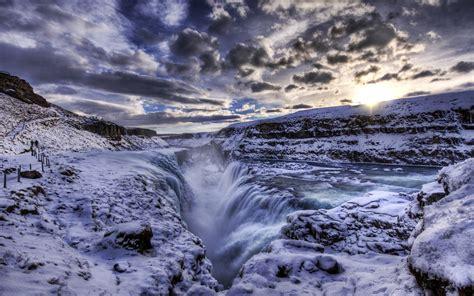 Gullfoss Waterfall Backgrounds by Gullfoss Wallpapers Photos And Desktop Backgrounds For