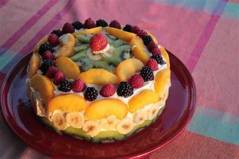recette gateau danniversaire aux fruits facile  rapide