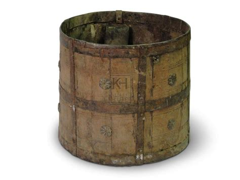 Buckets Prop Hire » Iron Bucket With Decoration