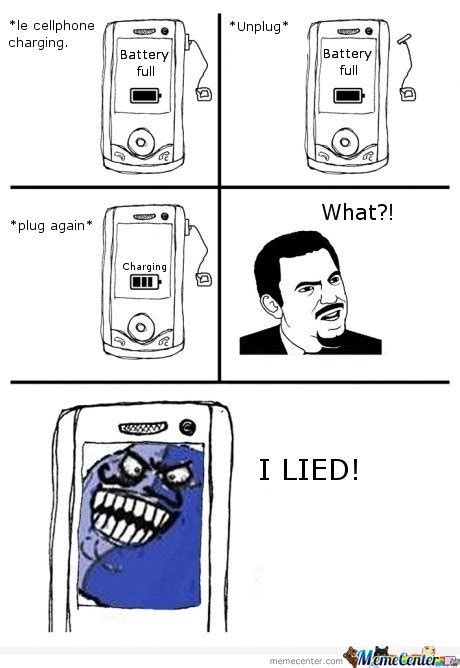 Mobile Phone Meme - le cellphone charging by mustapan meme center