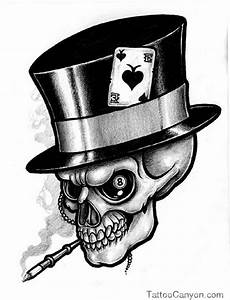 skull in top hat tattoo - Google Search | Tattoos ...