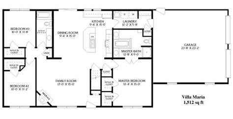 simple open house plans simple open ranch floor plans style villa house