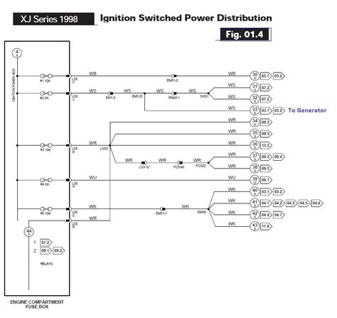 Fuse Diagram For Jaguar Xjr by 1998 Jaguar Xjr Alternator Charge Light Jaguar Forums