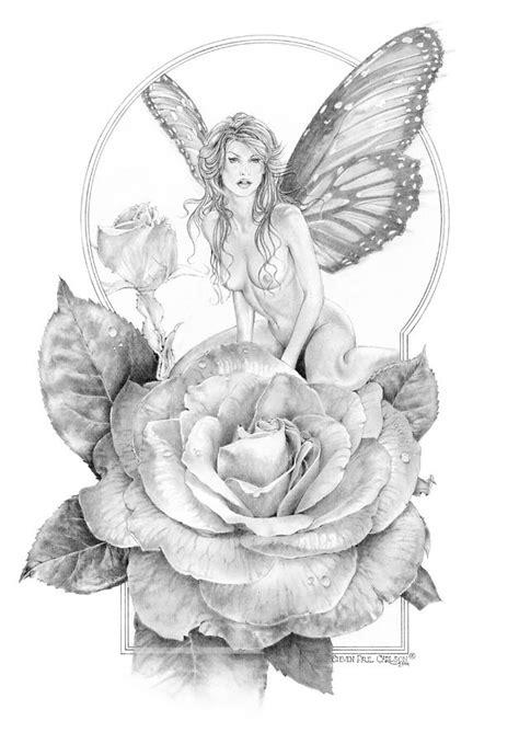 Summer Faerie - The Season Faeries Drawing by Steven Paul
